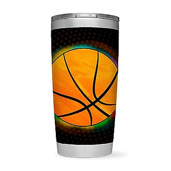 Glowing Basketball Tumbler -SPIdeals Designs