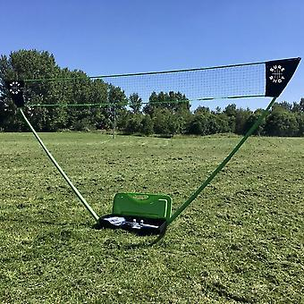 Sure Shot Badminto Outdoor Quick Fit 3m Post and Net Senior Pack