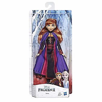 Бобблхед фигурки Дисней замороженная анна модная кукла с длинными рыжими волосами и нарядом, вдохновленным замороженными 2