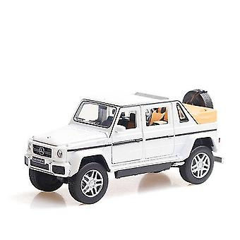Toy cars 1:32 toy car benz g650 alloy car open car off road vehicle toy diecasts toy vehicles car model