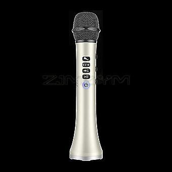 L-698dsp 20w bluetooth micrófono inalámbrico de mano micrófono de karaoke usb mini home ktv para música