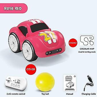Mini rc intelligente sensor auto radiogestuurde elektrische schattige afstandsbediening auto cartoon modus slim