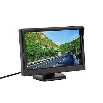 "Neue 5"" 480 * 272 Auto Tft Lcd Monitor Bildschirm 2ch Video Reverse Kamera"