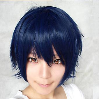 Unisex Férfi Fiúk Anime Rövid Paróka Cosplay Party Straight Hair Teljes paróka