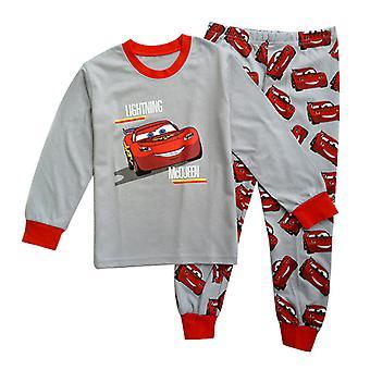 Autók Lightning Mcqueen Boys Pizsama póló Nadrág set hálóruha Outfit
