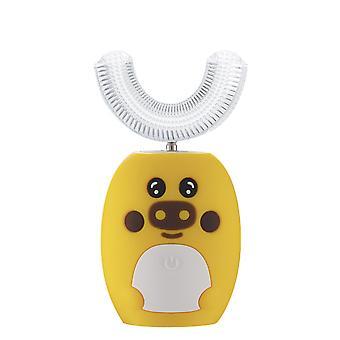 Smart U-formad sonisk elektrisk tandborste för barn