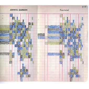 John K. Samson - Provincial [CD] USA import