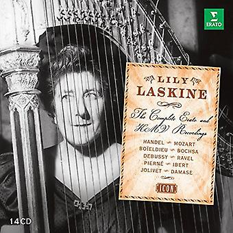 Lily Laskine - Lily Laskine: Complete Erato & Hmv Recordings [CD] USA import