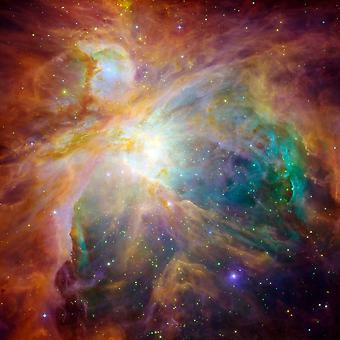 A impressão de cartaz de nebulosa de Orion