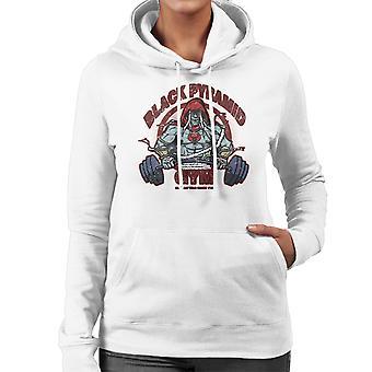 Black Pyramid Gym Mumm Ra Thundercats Women's Hooded Sweatshirt