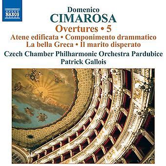 Cimarosa / Czech Chamber Philharmonic - Domenico Cimarosa: Overtures Vol 5 [CD] USA import