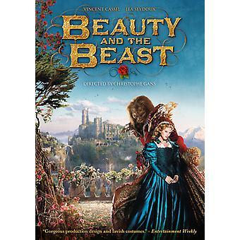 Skönhet & odjuret [DVD] USA import