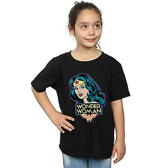 DC Comics Girls Wonder Woman Head T-Shirt
