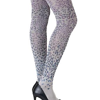 Zohara ZOF416-LGMC Women's You're An Animal Grey Fashion Tights