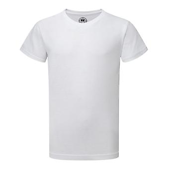 Russell oudere jongens korte HD T-Shirt van de koker