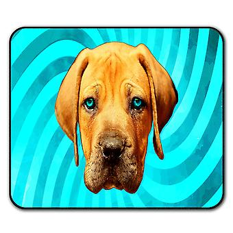 Labrador Cute Loyal Dog  Non-Slip Mouse Mat Pad 24cm x 20cm | Wellcoda