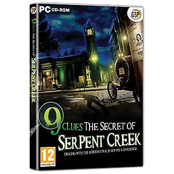 9 ledtrådar hemligheten med Serpent Creek (PC DVD)-ny