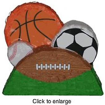Grupa sportowa piłki ozdoba