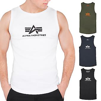 Alpha industries men's tank top logo
