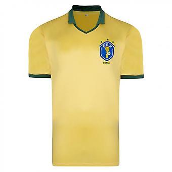 Score Draw Brazil 1986 World Cup Final shirt