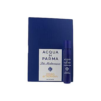Acqua Di Parma 'Blu Mediterraneo Cedro Di Taormina' EDT 1.2ml Vial On Card