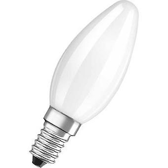 OSRAM LED (monocromático) EEC A+ (A++ - E) E14 Candle 2,5 W = 25 W Branco quente (Ø x L) 35 mm x 99 mm 1 pc(s)