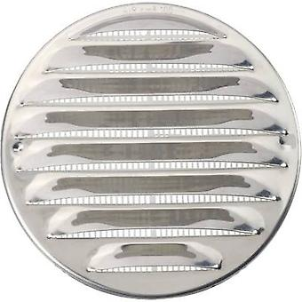 Wallair N31835 Vent grille Stainless steel Suitable for pipe diameter: 10 cm