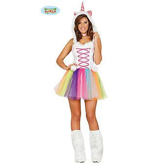 Sexy traje de unicornio Guirca caballo unicornio Carnaval de damas