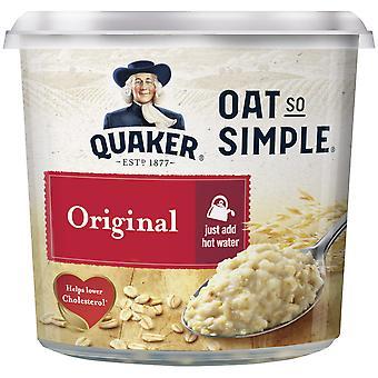 Quaker Original Oats So Simple Porridge Pots