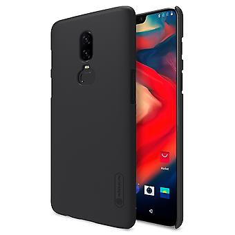 NILLKIN OnePlus 6 frosted shell hard-black