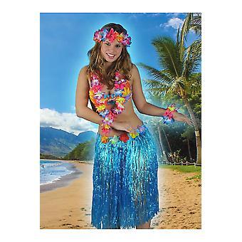 Hawai en tropische vrouwen Hawaii rok blauw