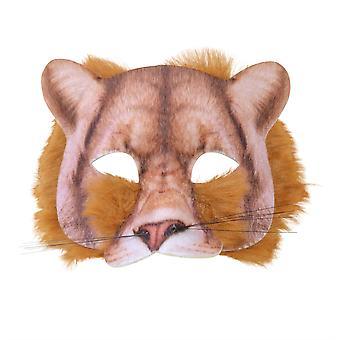 Lion Face Mask realistische bont