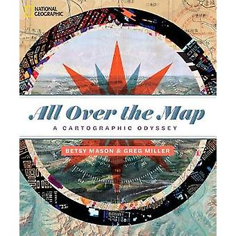 Partout dans le plan d'accès-une odyssée cartographique de partout sur la carte - une Carto
