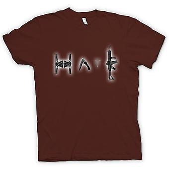 Kids T-shirt - Hate - Anti Gun & Weapon