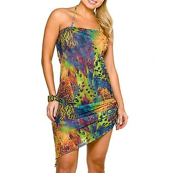 Amalfi tan door jurk