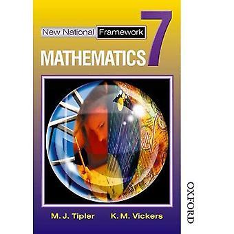 Livre nouveau cadre National mathématiques 7 Core élèves