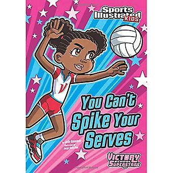 Du kan inte spika dina servar (sport illustrerade Kids seger skola Superstars