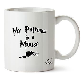 Hippowarehouse min Patronus er en mus 10 oz krus Cup