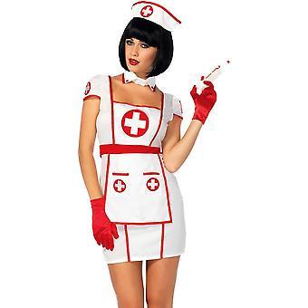 ハートブレイカー看護婦大人用コスプレ衣装