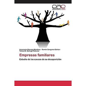 Empresas familiares door Barroso Martnez Ascensin