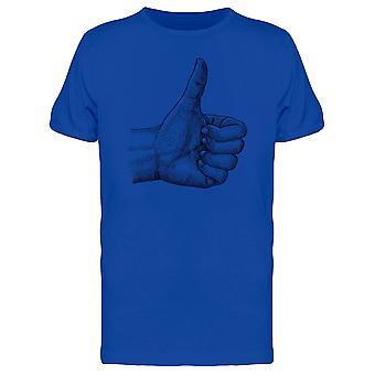 Menschliche Hand (wie) T-Shirt Herren-Bild von Shutterstock