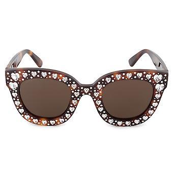 Gucci GG0116S 006 49 übergroße Sonnenbrille