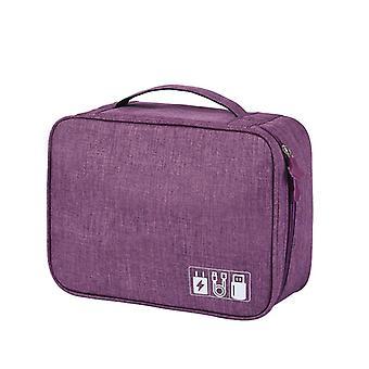 Elektronisk taske, lilla