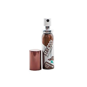 Paquete de menta de chocolate fresco de 6 refrescantes de aliento Oral Hygiene Mouth Pump Spray