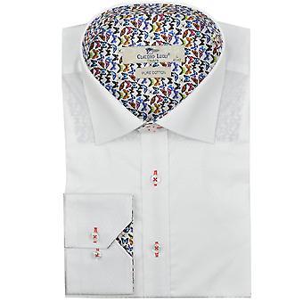 Клаудио Lugli жаккард образцу рубашки мужские