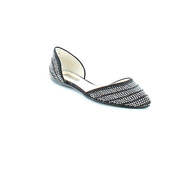 INC International Concepts Womens Crescente5 Fabric Pointed Toe Slide Flats