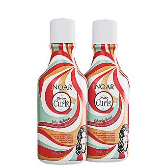 Inoar Duo Divine Curls Hair Care System - 250ml x 2