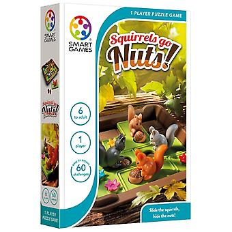 SmartGames Squirrels Go Nuts! One Player Puzzle Game