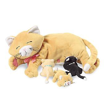 Manhattan Toy Nursing Nina Cat Nurturing Soft Toy