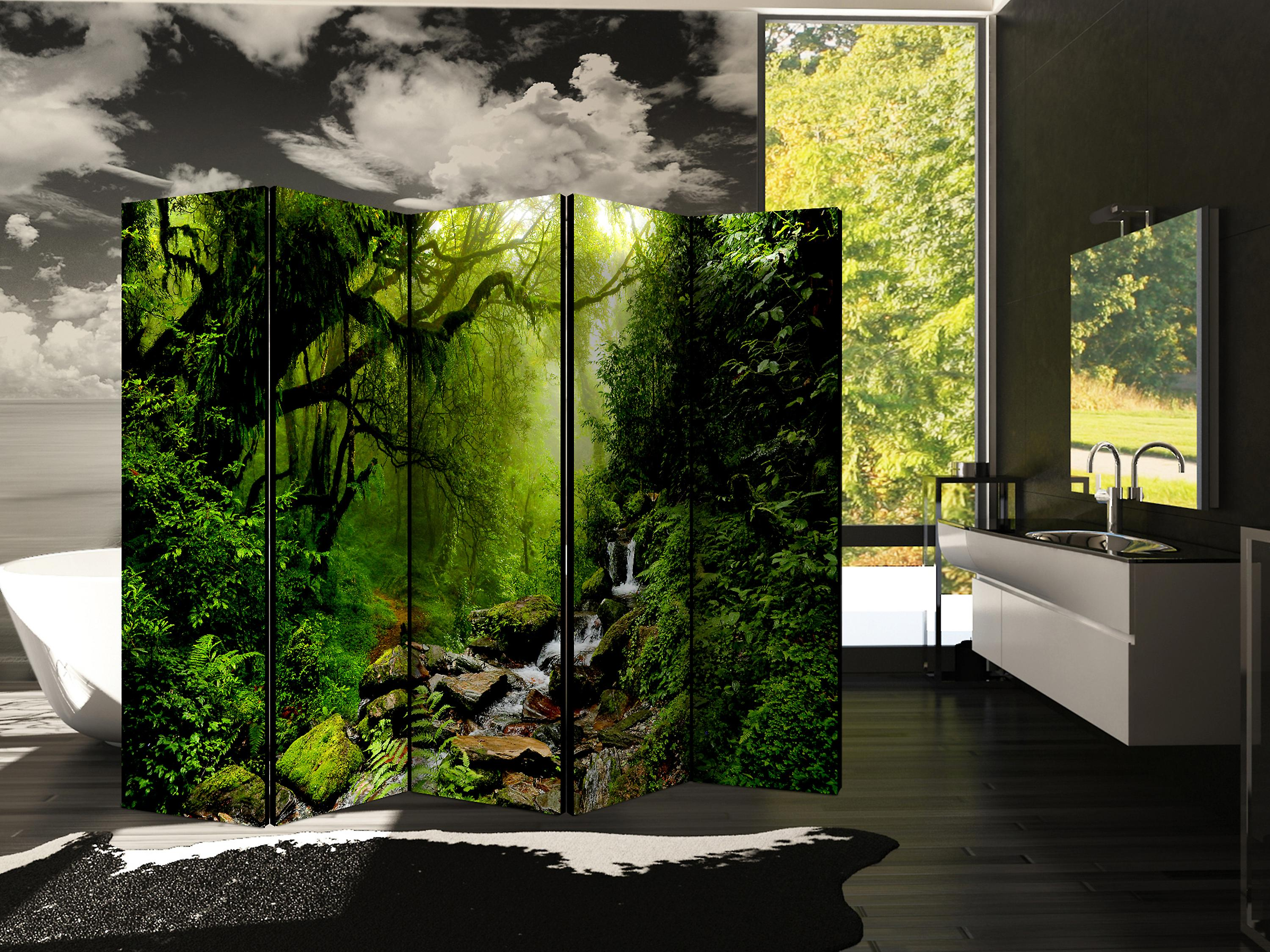 Paravent 5 volets - The Fairytale Forest II [Room Dividers]